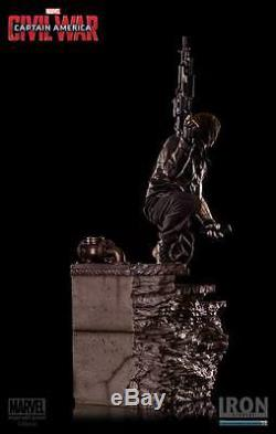 1/4 Legacy Replica Winter Soldier Civil War Iron Studios