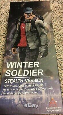 1/6 Acplay ATX022 Captain America Civil War Winter Soldier Bucky Barnes Figure