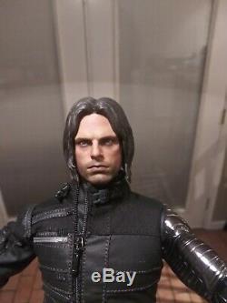 1/6 Acplay Captain America Civil War Winter Soldier Bucky Figure not Hot Toys