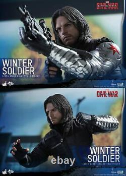 1/6 Captain America Civil War Winter Soldier MMS Sideshow 902656
