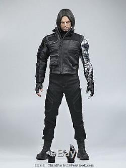 1/6 The third party Captain America Civil War Winter Soldier Bucky Barnes Stan