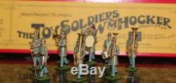 10pc Set William Hocker #347 Confederate Infantry Band Toy Soldier Civil War