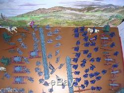 111 Pieces Civil War Armymen Cannons Soldier Set, Fences, Siege Mortar Cannons