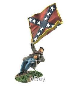 130 Metal Britains (W. Britain) American Civil War Standard Bearer # 27