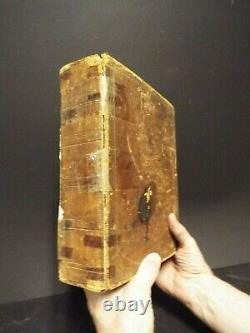 1815 Revolutionary War/Civil War Soldiers Bible