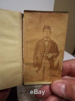 1848 Civil War with Chaplain Letter about Soldier's Faith Edgar A. Stone