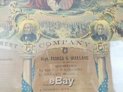 1860s American Civil War Military Soldiers Memorial 4th Regiment N H Volunteers
