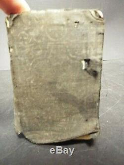 1861 Civil War NT Bible. Soldier ID'd Bible, injured in battle. Complete. Signed