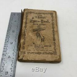 1861 Civil War Soldier's Hymn Book with Tunes miniature pocket size YMCA pub