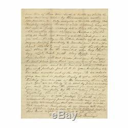 1862 Civil War Letter by 11th Corps Soldier JEB Stuart's Catlett Station Raid