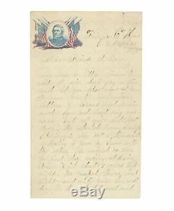 1862 Civil War Soldier Letter Looting Rebel Fortifications at Manassas