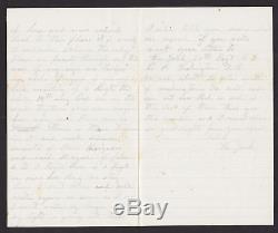 1862 Union Soldier's Letter & Envelope, Civil War