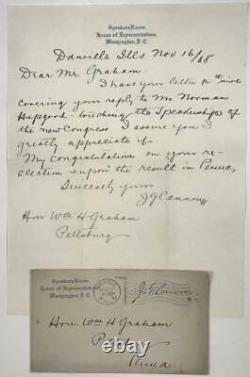 1864 -1923 Archive, CIVIL War Soldier, Pittsburgh Pa Congressman, William Graham