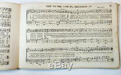 1864 CIVIL WAR SONG Music Book TRUMPET OF FREEDOM Union Soldier Oliver Ditson