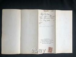 1866 CIVIL WAR UNION SOLDIER DISCHARGE BOUNTY NOTICE Purnells Maryland 1st ed