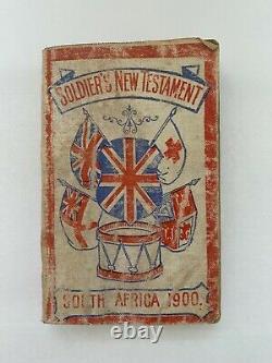 1900 South Africa BOER CIVIL WAR SOLDIER'S NEW TESTAMENT POCKET BIBLE