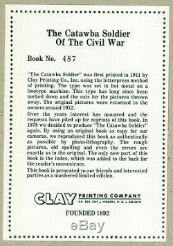 1978 The Catawba Soldier of the Civil War, Hickory, North Carolina, Confederate