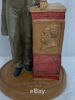 1986 Tom Clark Civil War Confederate Soldier Statue