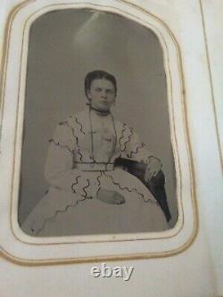 2 Antique Civil War Photo Albums Civil War Soldier. 54 photos