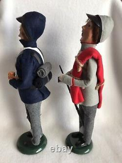 2019 BYERS CHOICE The Carolers Civil War Soldiers