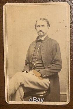 28th Illinois Infantry Civil War CDV Soldier Photo John J. Mappin