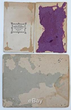 3 Original Civil War Photos, 10th Army Corps Beaufort, SC, CDV Union Soldiers