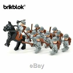 American Civil War Army Union North South Soldiers Figures Building Blocks Lego