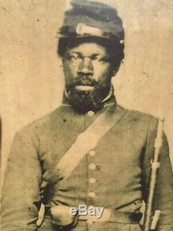 Antique African American Civil War Soldier