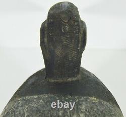 Antique Hand Carved Primitive Duck Decoy Signed Alabama CIVIL War Soldier