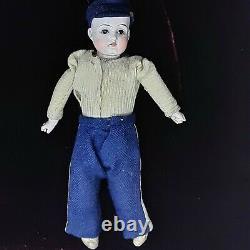 Antique KESTNER 154 DEP Bisque Doll Germany 11 Civil War Union Soldier RARE