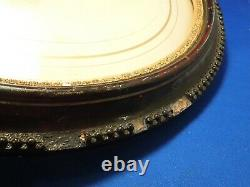 Antique Large Portrait of a Civil War Sergeant Soldier by S. B. Howard In Frame