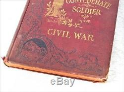 Atq 1895 1st Edition Confederate Soldier Civil War CSA Battle History Book