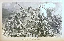 BLACK PHALANX History of the NEGRO SOLDIERS OF US A Revolutionary Civil War 1812