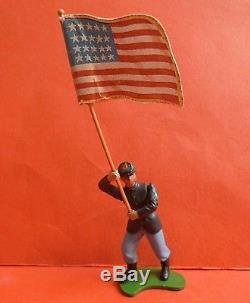 BRITAINS SWOPPET AMERICAN CIVIL WAR UNION U. S TOY SOLDIERS X8 & CANNON 1960s