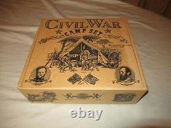 Barzo Civil War Camp Set