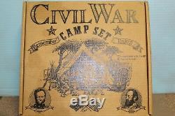 Barzso Union Civil War Camp COMPLETE PLAY SET