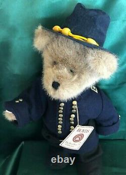 Boyds Plush Bear CIVIL War Yankee Soldier General Meade 14