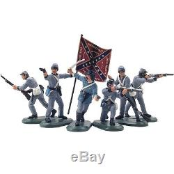 Britain Super Deetail Toy Soldiers 52014 American Civil War Confederate Infantry