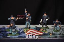 Britains 17245 Hold At All Costs American CIVIL War Metal Toy Soldier Figure Set