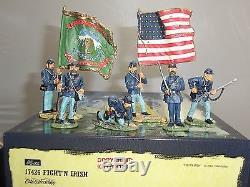Britains 17426 Fight N Irish American CIVIL War Metal Toy Soldier Figure Set