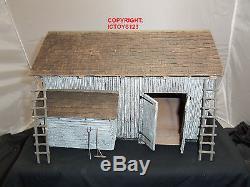 Britains 51005 American CIVIL War Small Barn Building Toy Soldier Diorama Set