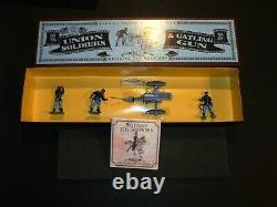 Britains American Civil War Union Soldiers & Gatling Gun Toy Set MIB NRFB