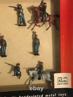 Britains Set #9386 Confederate Infantry US Civil War Soldiers