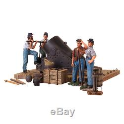 Britains Soldiers 31134 A Civil War 13 Mortar and Crew 5 Piece Set Ltd. Ed. 500