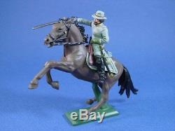 Britains Toy Soldiers Civil War Confederate Cavalry Deetail 7 Piece Set 1/32 New