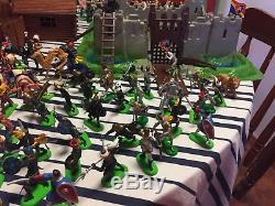 Britians toy soldiers, Cowboys, Civil War, Indians, Calvary and Medieval