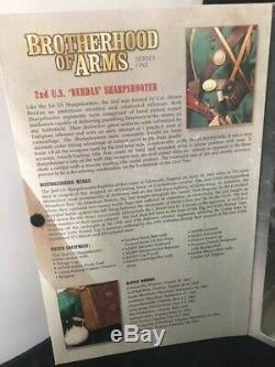 Brotherhood of Arms U. S. Berdan Sharpshooter American Civil War Sideshow Toys