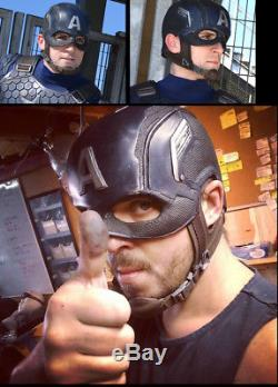 CAPTAIN AMERICA HELMET Age Of Ultron Civil War Winter Soldier Costume Cosplay
