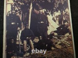 CDV Civil War Photo of Union soldiers at Camp Brightwood. 20th cent. Image