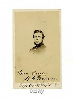 CDV Photo Civil War soldier PA Volunteers 54th Company K Henry Wagner Allentown